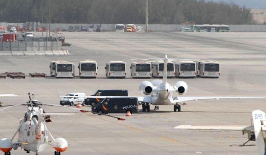 Un jet privé en provenance des Caraïbes et à destination du Congo intercepté aux îles Canaries avec 524 millions de dollars