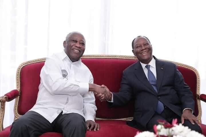 Rencontre Gbagbo-Ouatarra: Le symbole est fort . L'image est puissante.