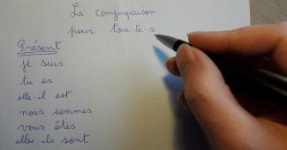 Conjugaison écriture inclusive