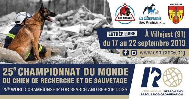 25e championnats du Monde du chien de recherche et de sauvetage