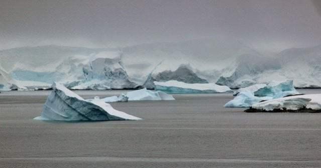 Perdita di metano in Antartide superficie