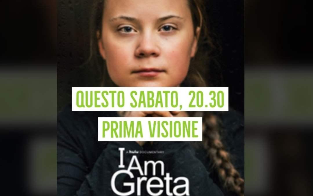 """""""I am Greta"""": questa sera in Prima Visione italiana"""