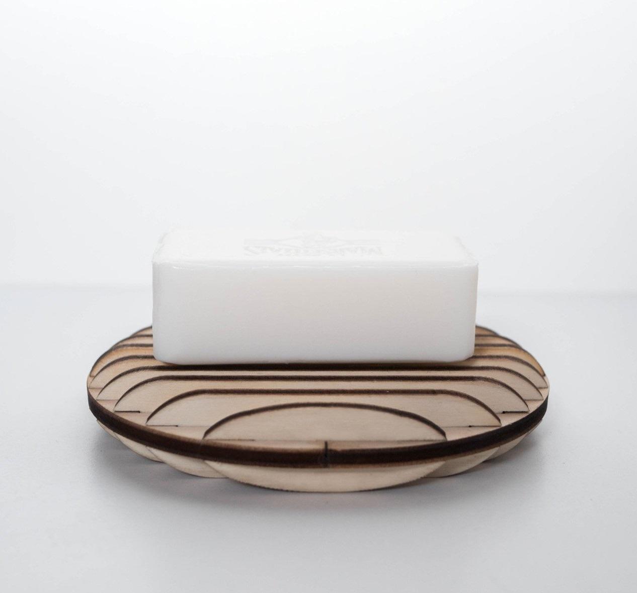 porte savon en bois artisanal edobois