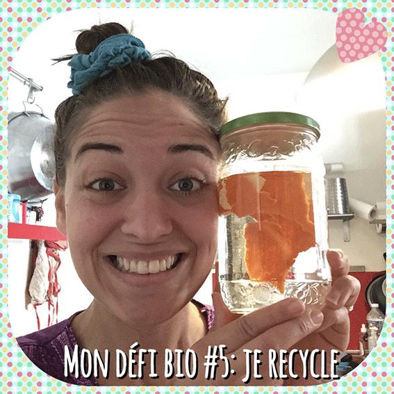 Mon défi Bio #5: Je Recycle des Épluchures de Mandarines