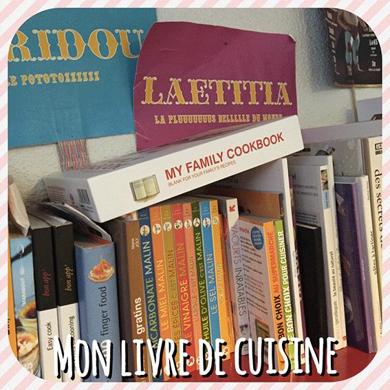 Mon livre de cuisine: My Family Cook, un trés beau livre-objet