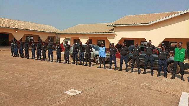 ENPPC de Kabgelen: des officiers de police formés en techniques de protection rapprochée