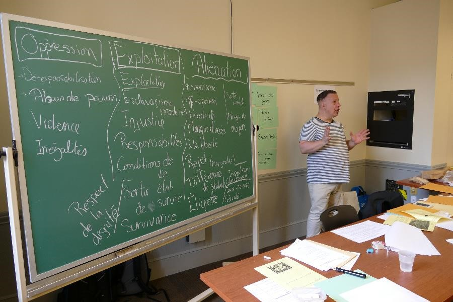 Éducation populaire - Formation dispensée par le CPRF