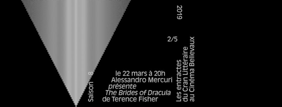 Les entractes du cran #2/5 Mercuri/Fisher — vendredi 22/03/2019, 20h