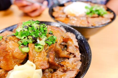 台南市東區|炙丼家 熟成牛肉誘人燒肉丼專賣 (菜單)