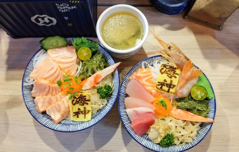 海神 平價生魚片丼飯
