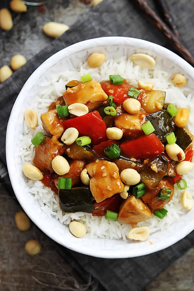 Slow Cooker Kung Pao Chicken