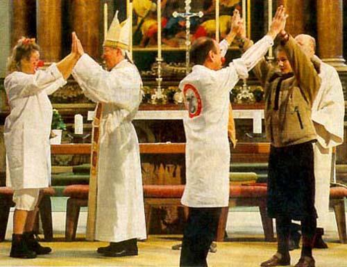 """Il Confiteor della """"nuova chiesa"""": Confesso che non voglio la Croce!"""