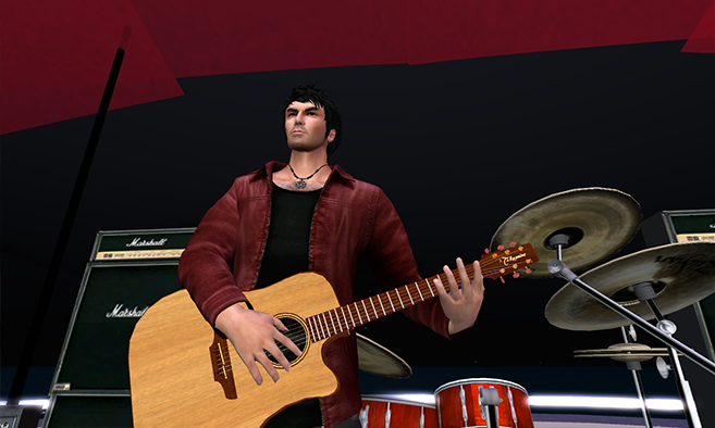 The big return of Seth Regan, SL Rock Star Mankind Tracer