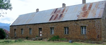 Old stone missionary house at Maphutseng Mission