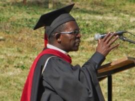 MTS Director Rev. Kometsi gives his remarks