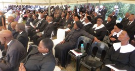 LECSA members at the service