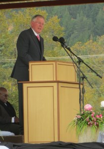 Dr. Kobus Gerber of the World Communion of Reformed Churches