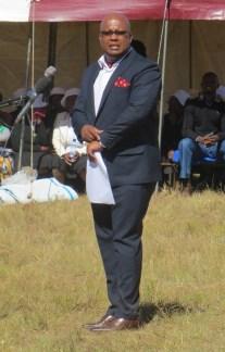 Mr. Tsepo Mpholo, Acting Administrator of Tebellong Hospital