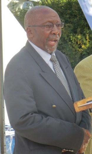 The Principal Chief of Matsieng Masupha Seeiso