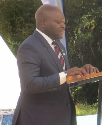 Dr. Virgile Kikaya, Jhpiego Coordinator at Scott Hospital