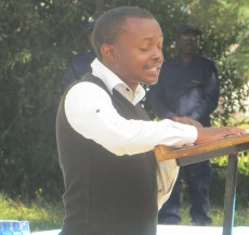 Mr. Lepheane Mosuoane, a VMMC client beneficiary, gives his testimony