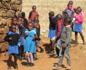 Young Students of Qiloane Primary School