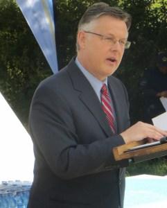 US Ambassador Matthew T. Harrington