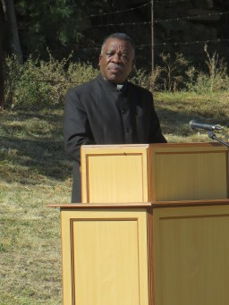 Rev. A. T. Lemphane of the Ministerial Commission
