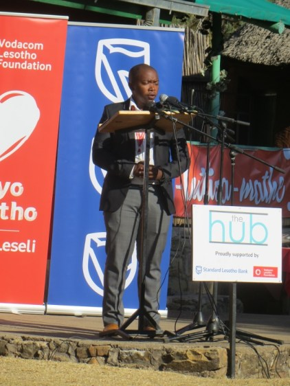 Vodacom Lesotho Foundation Manager Mpho Brown