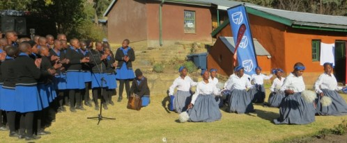Morija Girls High School Mokhibo group