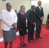 1st Year Theological Students Ms. Thoahlane, Ms. Koetje, Mr. Matela and Mr. Sodinga