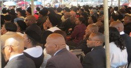 Part of the congregation attending the ordination service
