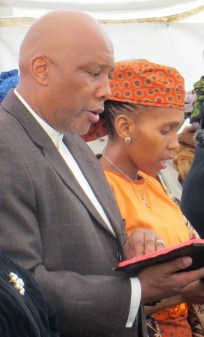 Their Majesties King Letsie III and Queen 'Masenate