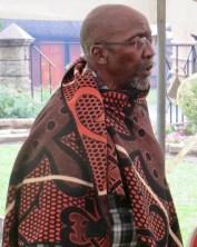 The Acting Principal Chief of Matsieng David Masupha Seeiso