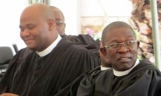 Rev. T. S. Masemene and Rev. B. M. Kometsi
