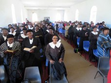 Service of Thanksgiving at Mohale's Hoek LECSA