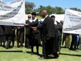 LECSA Moderator Rev. Masemene welcomes members of Masoeling and Motjoka congregations