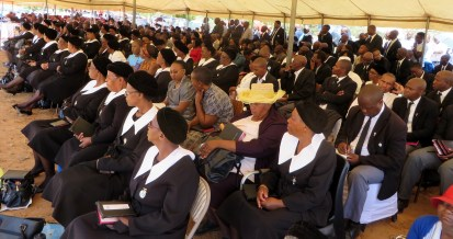 LECSA members attending the ordination service