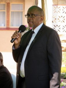 The Principal Chief of Matsieng Prince Seeiso Bereng Seeiso