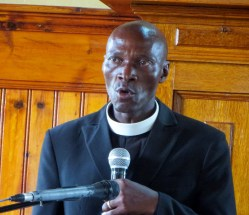 Service leader Rev. Ephraim Mokoto Leeto
