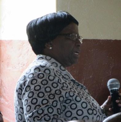 Member of Parliament Mrs. Mabatšoeneng Sibolla