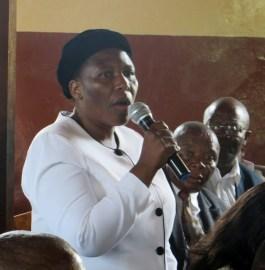 Member of Parliament for Ketane Mrs. Marefuoe Muso
