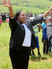 Morija Parish Evangelist Mrs. Makhotso Phalima