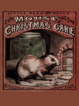 mouse-and-christmas-cake