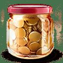 money jar icon - B.A-BA de l'ebook
