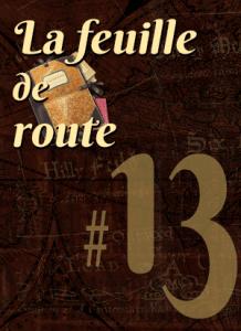 Feuille de route #13