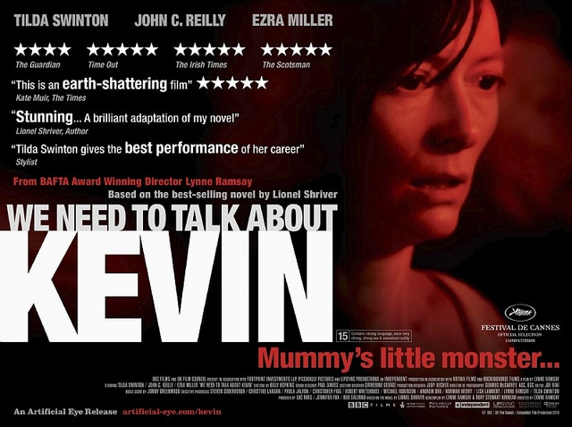 We Need To Talk about Kevin poster Tilda - Il faut qu'on parle de Kevin
