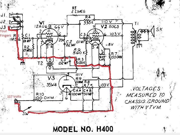 harmony amp schematic