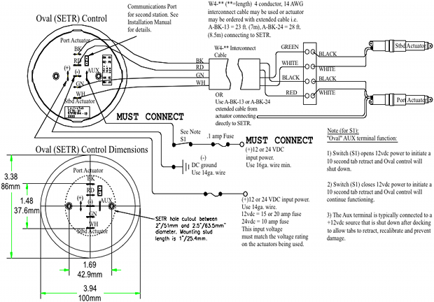 Bennet Trim Tabs Wiring Diagram Lenco Trim Tab Switch