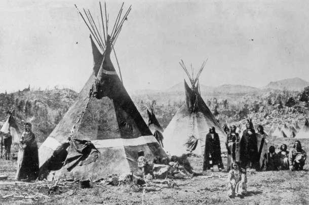 Campamento Shoshone - Wyoming - Montañas